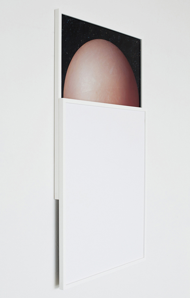 To What Degree a Stone is a Stranger / To What Degree it is Withdrawing (IB)   2012 C-print, custom wood frame 60 x 30 x 2 in / 152.4 x 76.2 x 5 cm