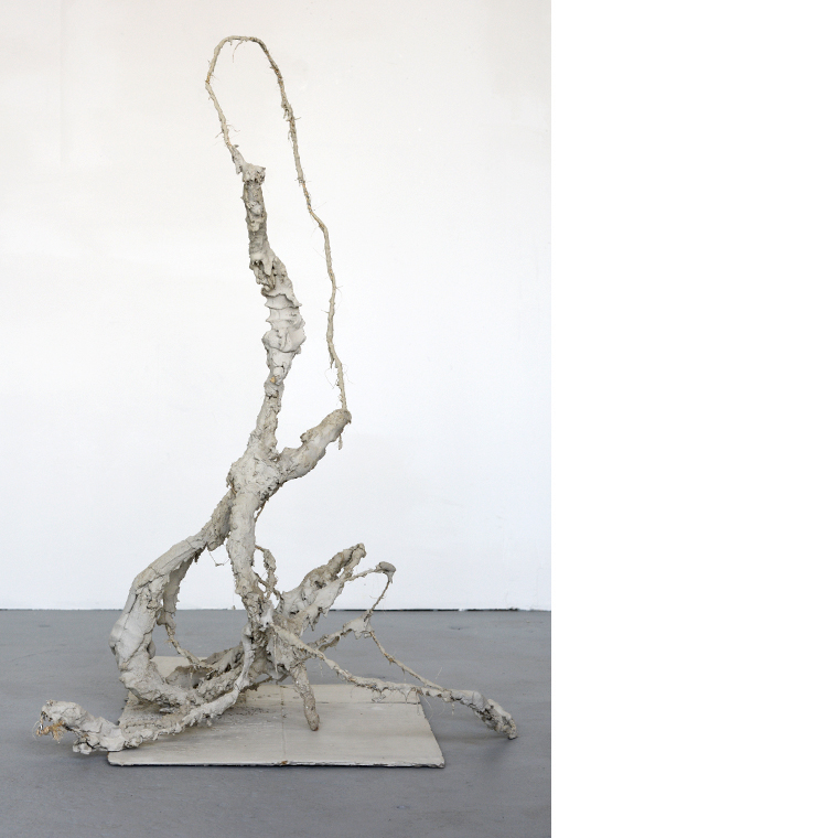 The Gift   2014 Concrete, cast concrete, twine, wire 36 x 22 x 43 in / 92 x 56 x 110 cm