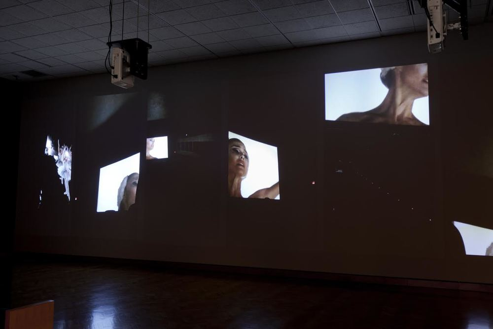 Movie (Black Swan) ,  2015  Six channel video installation  Walker Art Center