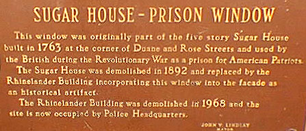 Sugarhouse Prisons