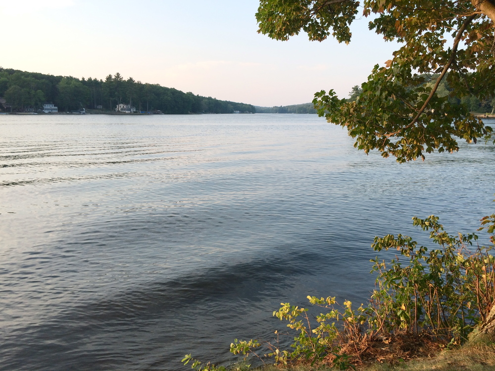 View of Cedar Lake in Sturbridge, which is the town next to Brimfield.