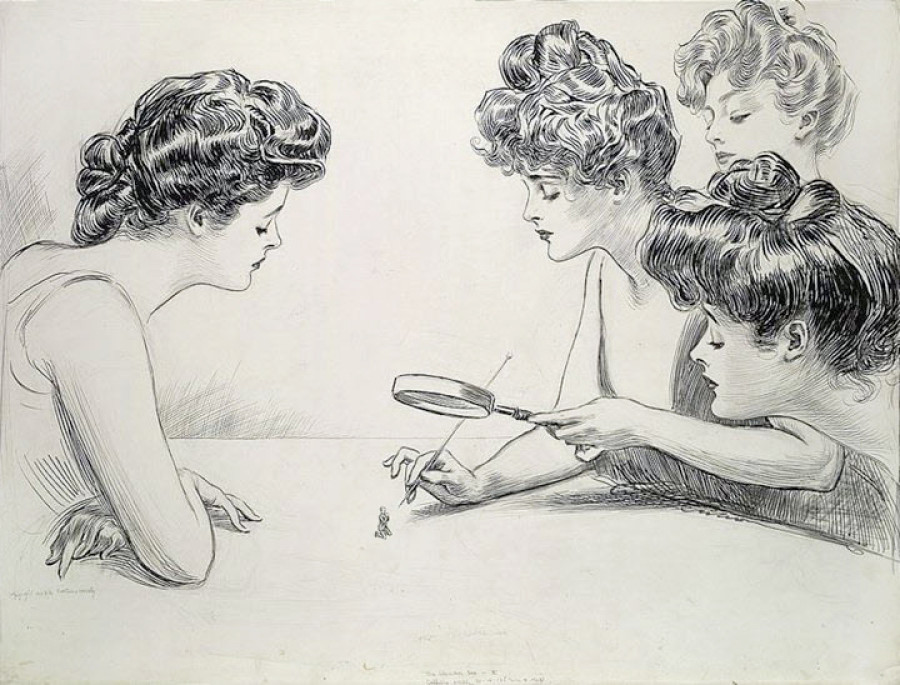Drawing by Charles Dana Gibson