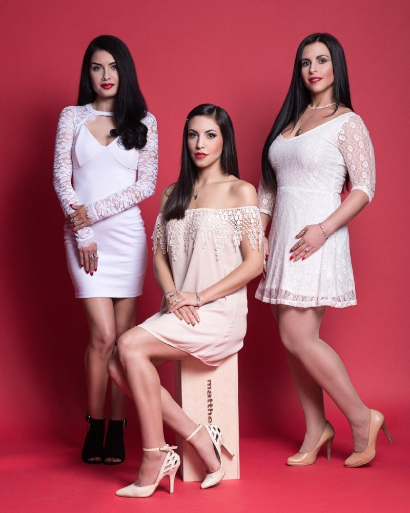 Dahlia Jean, Amanda Jean, & Laura Mae