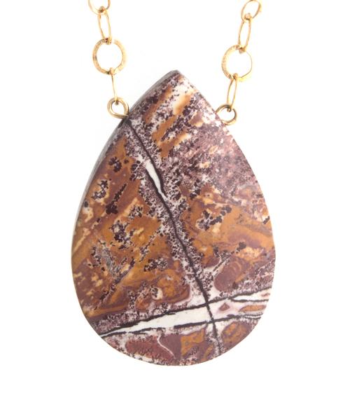 Sonoran dendritic agate pendant gemstone jewelry functional sonoran dendritic agate pendant aloadofball Choice Image