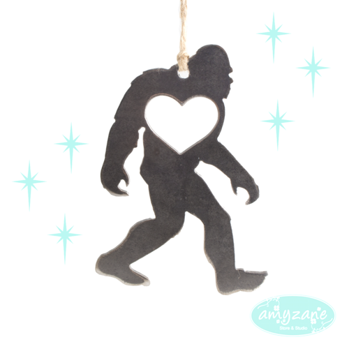 sasquatch ornament by be creations - Bigfoot Christmas Ornament