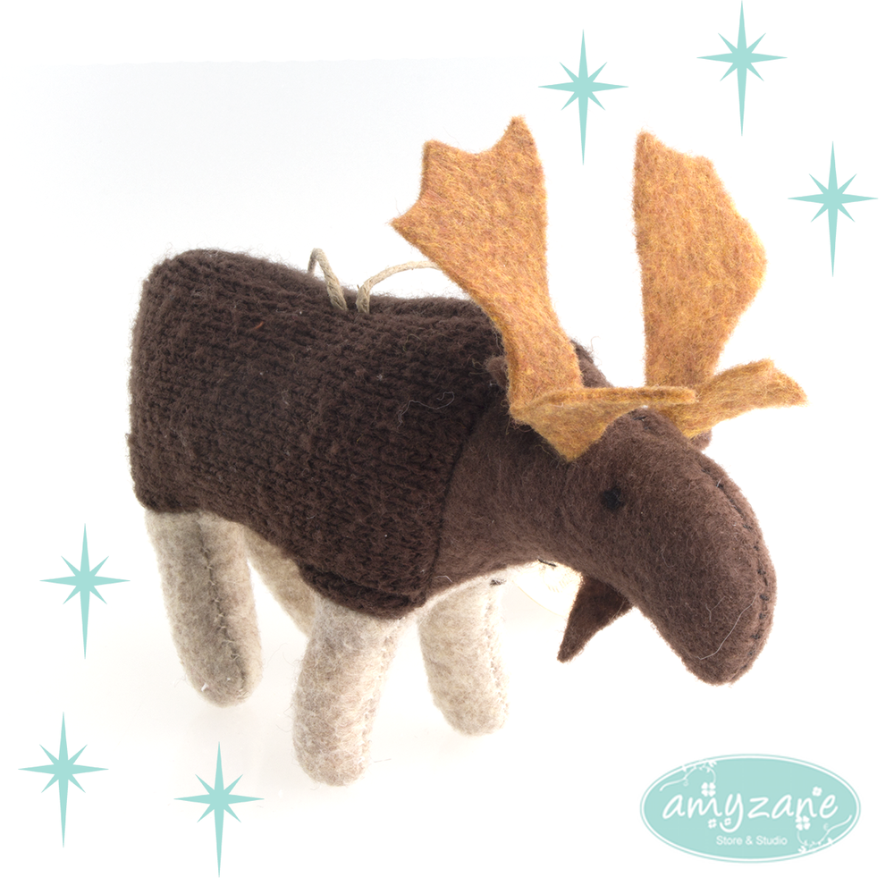 Knit Moose by Ed
