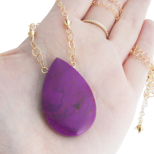 Sugilite necklace gemstone jewelry functional fine local art sugilite necklace aloadofball Images