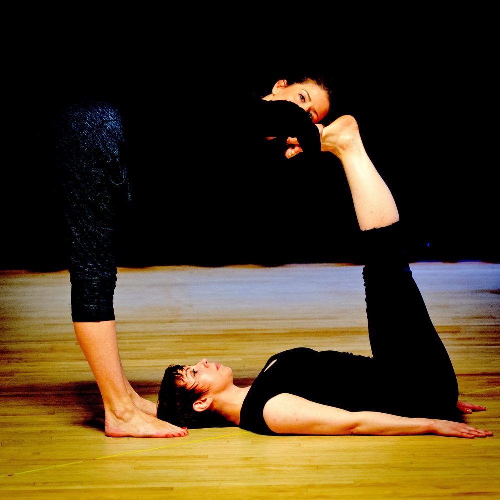 Kimberly Lantz and Meghan Schardt in  acht,  Photo by Wayne Lin