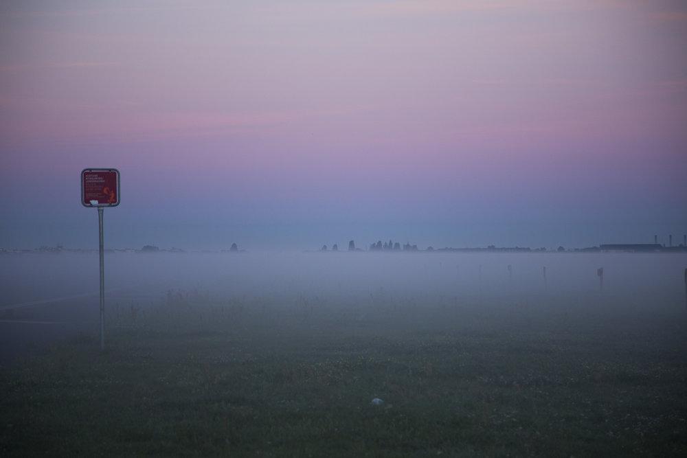morning in Tempelhofer Feld, Berlin