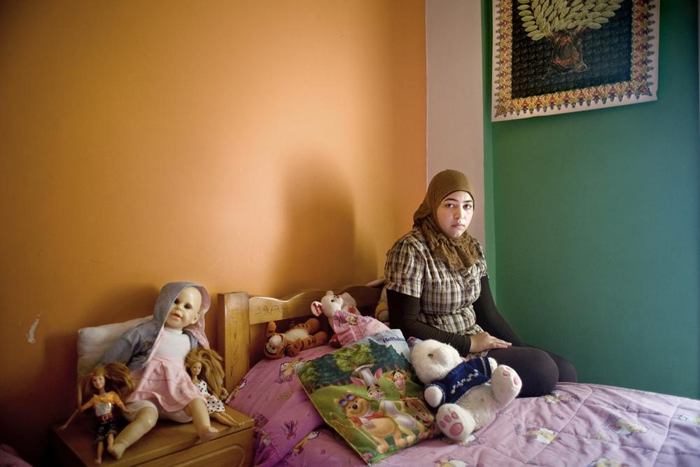 Sarah, Shatila Palestinian Refugee Camp Beirut, 2010