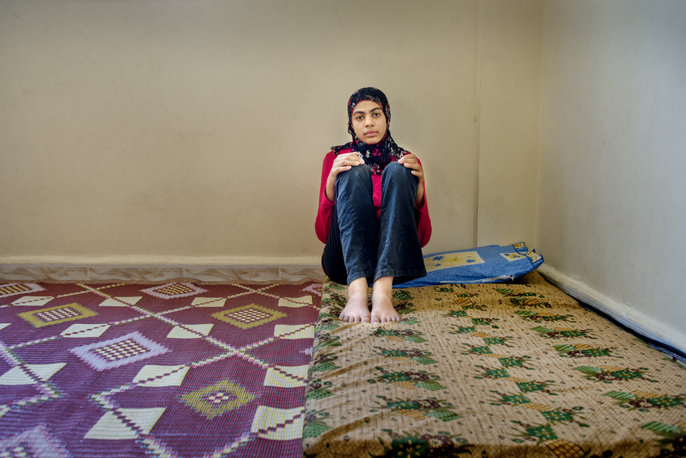 Zahra, Bourj al Shamali Refugee Camp, Tyre Lebanon 2009