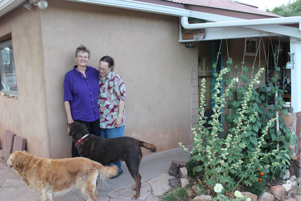Shelley & Martha.  Villanueva, NM. Rachel Garringer,July 2014