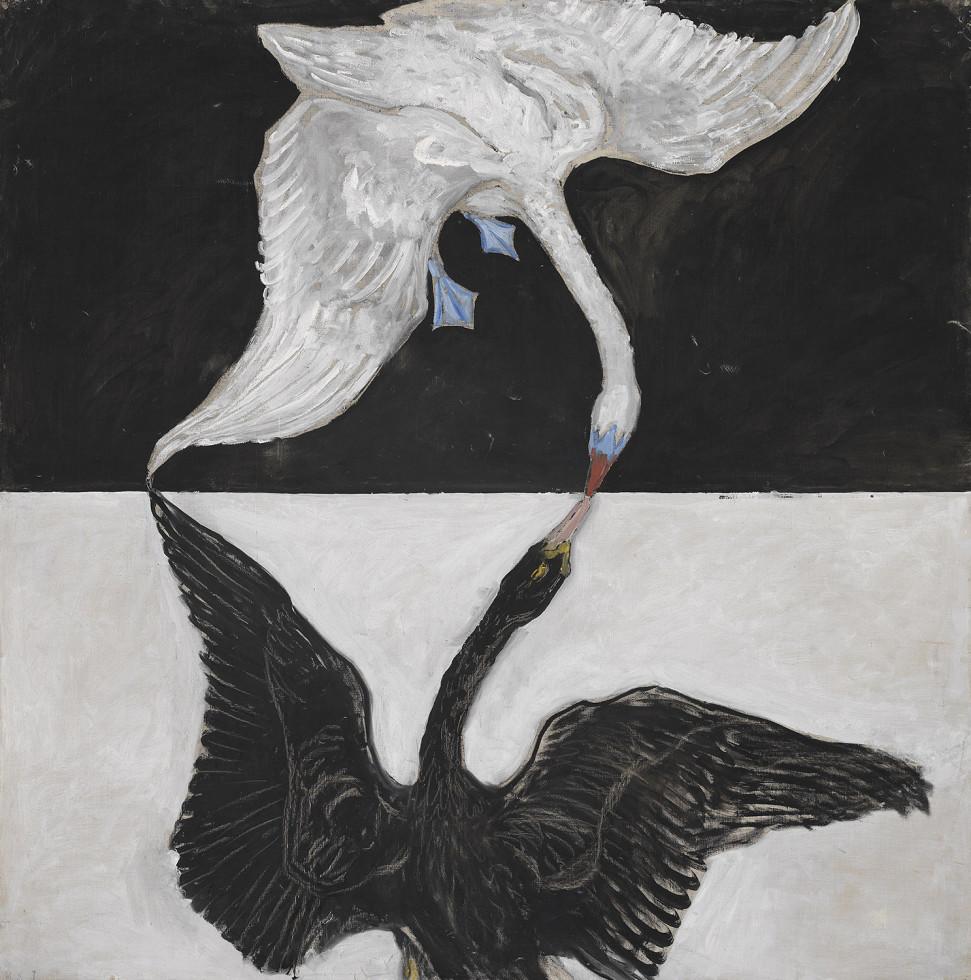 Hilma af Klint,  The Swan, No. 1, Group IX , 1915