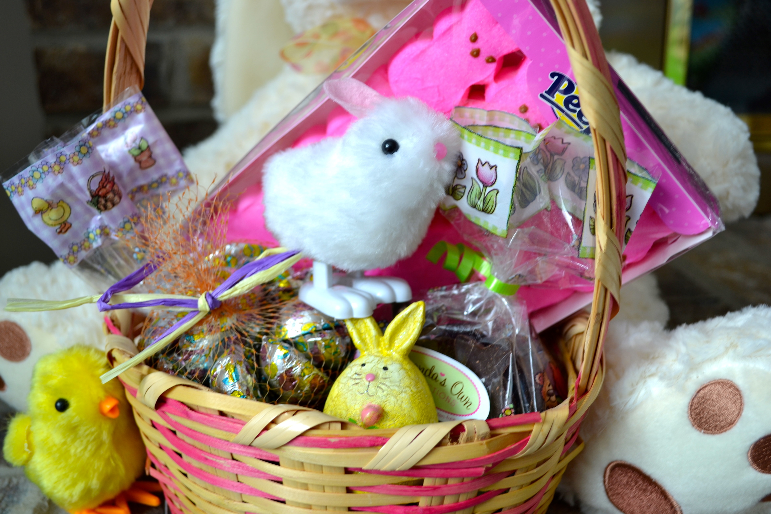 The nut free easter bunny is coming and he is bringing chocolate of course with easter right around the corner i have seen a lot of ideas on blogs and websites for healthier or entirely food free easter gifts for food negle Image collections