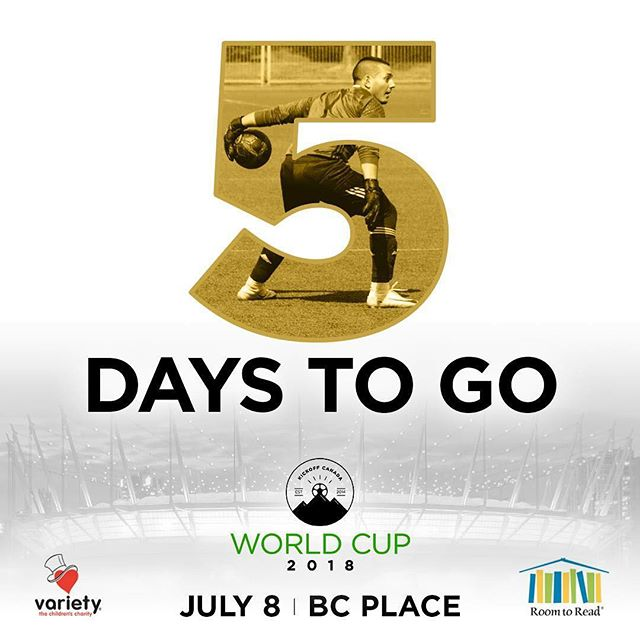 WE CANNOT WAIT!!!!!!! SEE YOU ALL AT BC PLACE ON SUNDAY