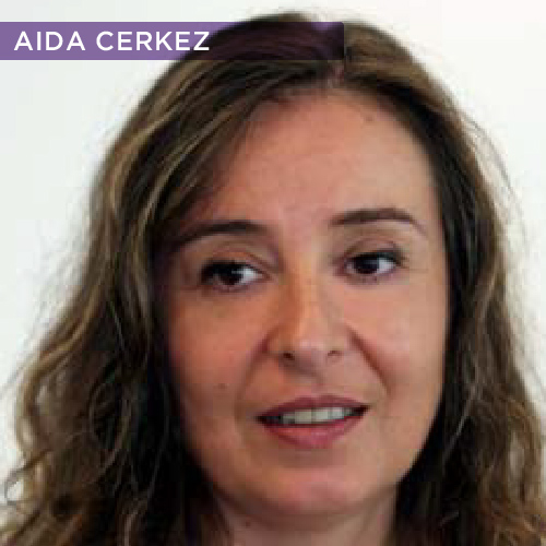 Aida Cerkez is a writer, manager and editor with 20 years experience in covering the Balkan region for major international media organisations. She was born in Sarajevo, Bosnia-Herzegovina in 1962, and grew up in the former Yugoslavia and Germany. Aida Cerkez became chief of the Associated Press (AP) Sarajevo bureau in 1994, while the Bosnian capital was under siege. She assumed responsibility for the AP's coverage of the ongoing conflict in words and images, as well as managing logistics and security for more than and dozen local employees in three field offices, and for visiting correspondents. In 1995, Ms.Cerkez won the Associated Press' Gramling Award for best managed media operation. As of 2009 Aida Cerkez is also in charge of planning AP regional television coverage. In 2005 Aida Cerkez joined the board of the New York University's Centre for Investigative Journalism, based in Sarajevo.