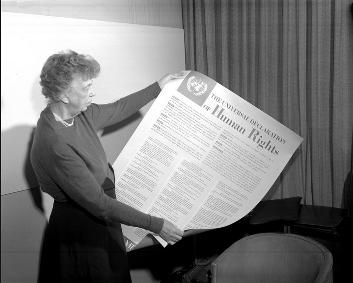 Eleanor Roosevelt - diplomat, activist and former First Lady of the United States