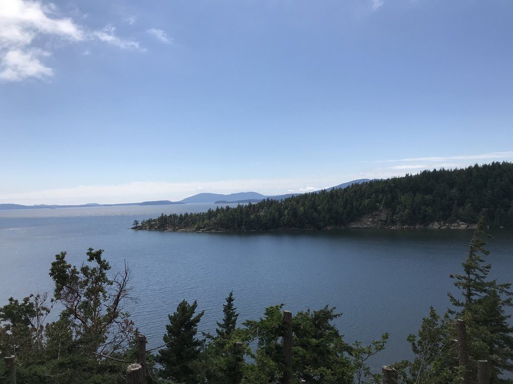 The view from Chuckanut Scenic Drive.
