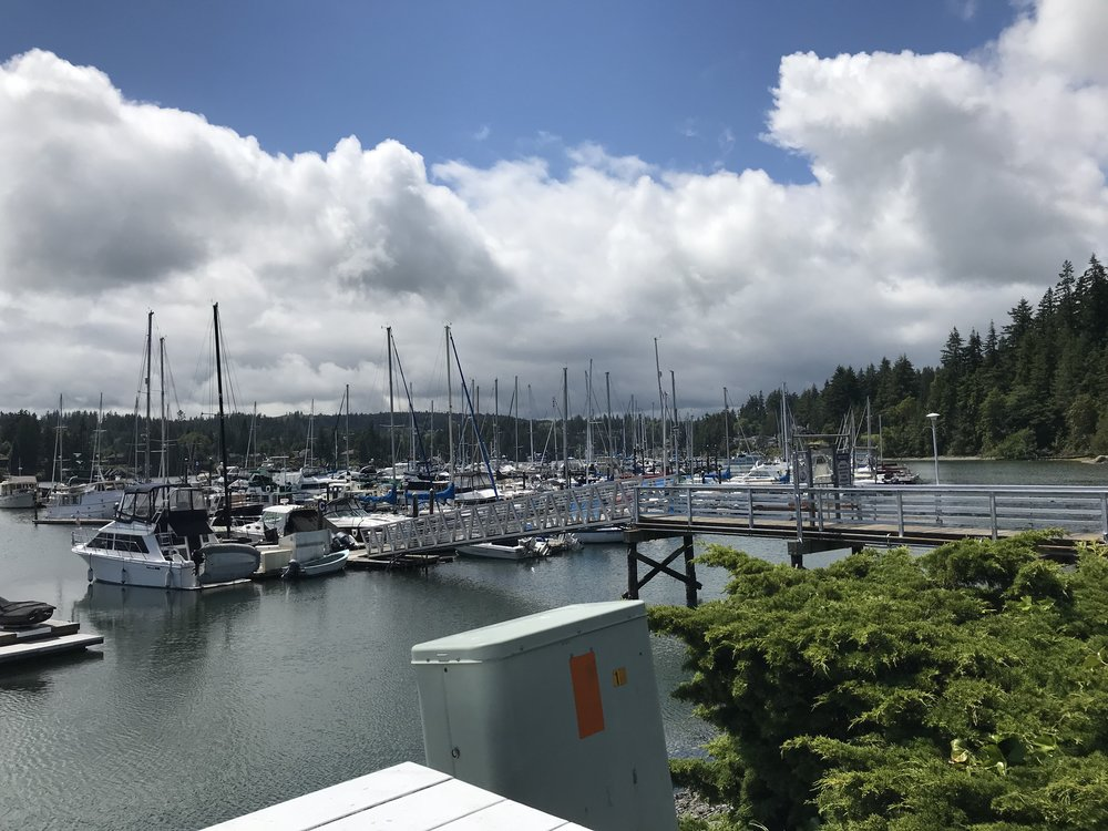 Marina at Port Ludlow.