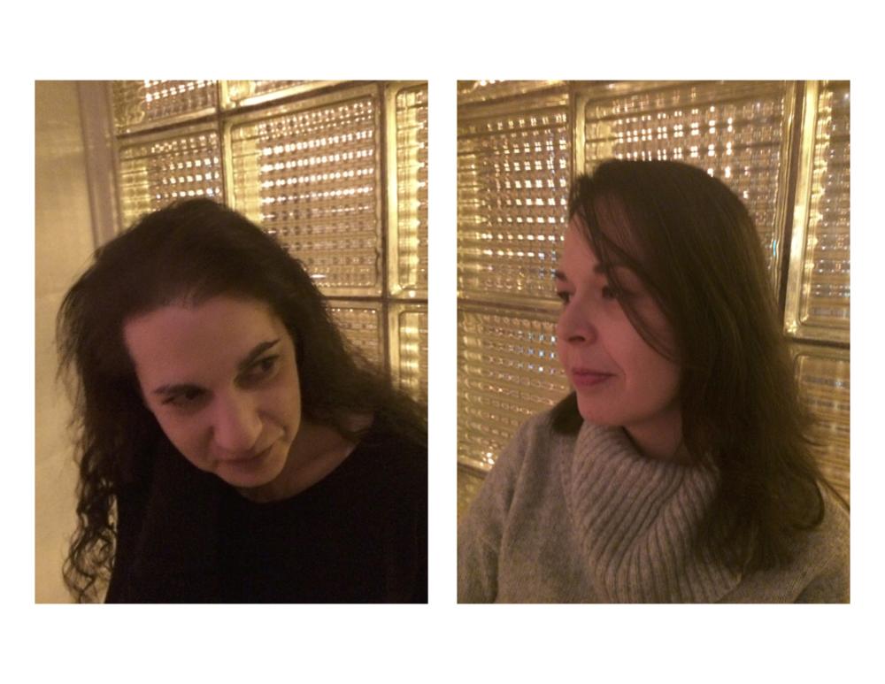 Monica Berlin & Beth Marzoni March 6, 2015 at 4 o'clock, Alumni Room /Caxton Club