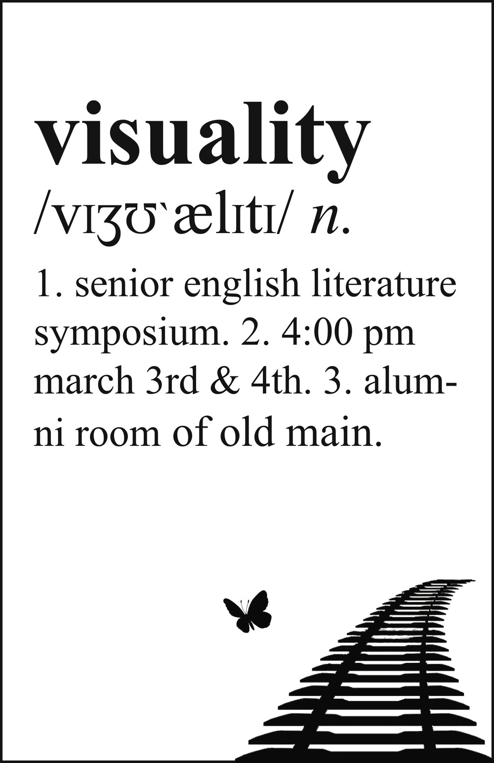 Senior Symposium: Trauma & Visuality / March 3 & 4, 2016