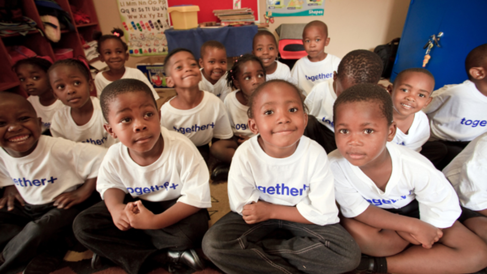 Together+ project in partnership with Kgosi Foundation and University of Notre Dame. Image courtesy of Matt Cashore.