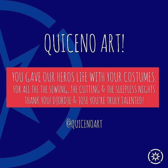 Thank You to our partner QuicenoArt for everything tailor-made for the kids and Superhope #superhope #thinksuper #quicenoart #costume #design #superpowers #children