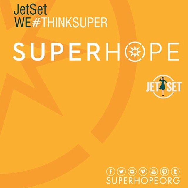 JetSet Thinks Super to help raise hope for children fighting real life battles @jetsetdubai #thinksuper #superhope #children #cancer #awareness #dubai