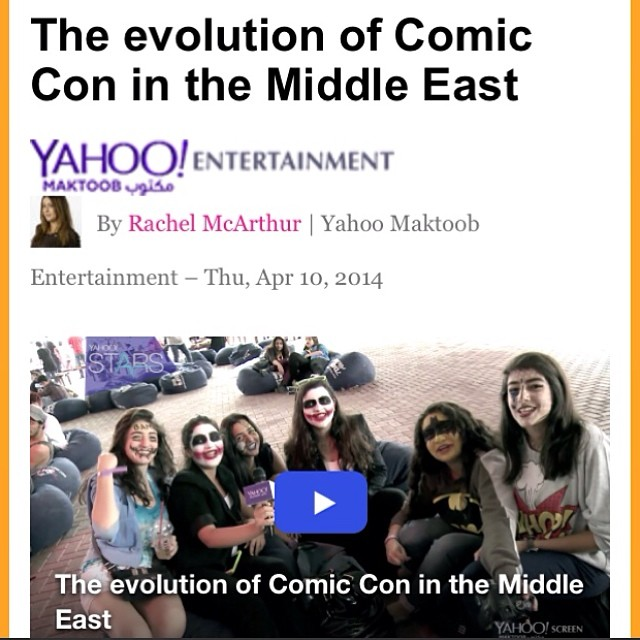 Learn more about Superhope's launch at Comic Con in this video with Yahoo Entertainment  https://en-maktoob.entertainment.yahoo.com/news/the-evolution-of-comic-con-in-the-middle-east-171105404.html?vp=1  #superhope #thinksuper #comiccon #children #cancer #awareness
