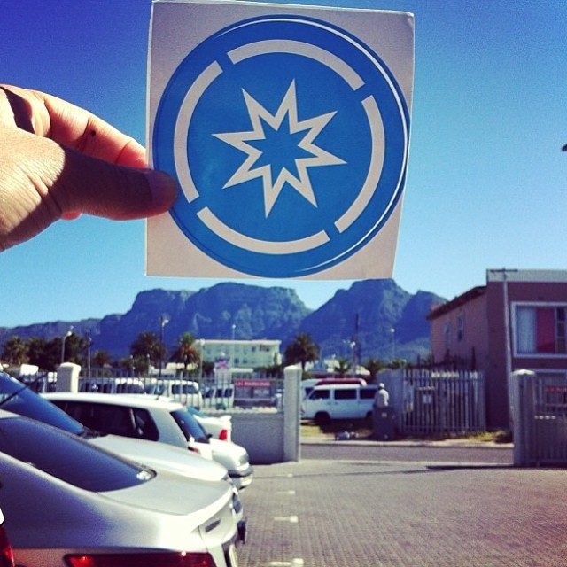 Malika @littlepianodiva Thinks Super at the tip of the mountains in Africa #superhope #thinksuper #capetown #travel #hope #children #cancer #awareness #positive #energy