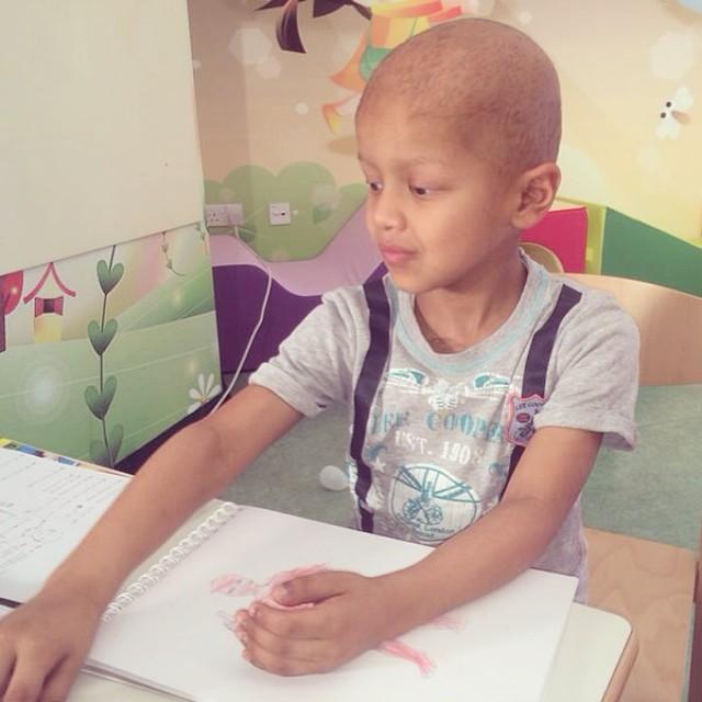 Meet Super Khalifa. A young superhero in the making! #ThinkSuper #SuperHope #superhero #superpower #hope