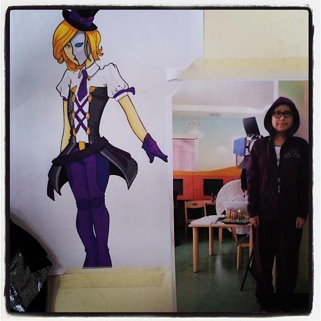 Super Jubilee's awesome creation! #costume #design #superhero #superpower #thinksuper #superhope