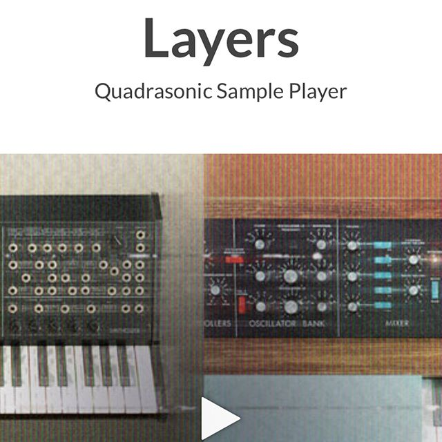 Our owner J Chris Griffin contributed heavily to the factory sounds of @propellerheadsw new LAYERS Quadrasonic Sample Player!  Everything sounds so clean - go check it out today. #pva #propellerhead #quadrasonic #production #audioengineer #engineering #studiolife #nyc #protools #ableton #musiclife