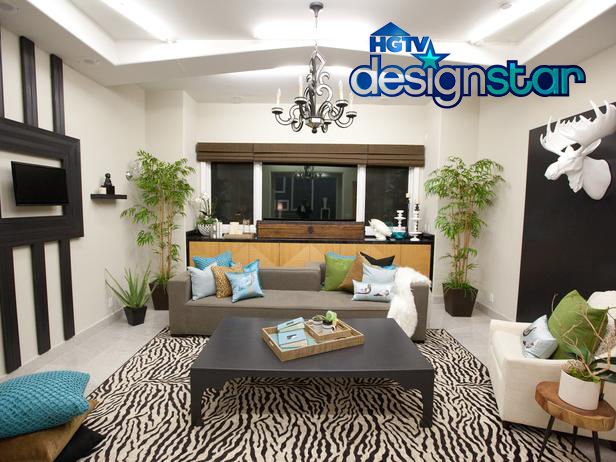 Rachel and Hilari's winning room (Challenge 1), click image to see more. Image Provided by Scripps Network, all rights reserved.