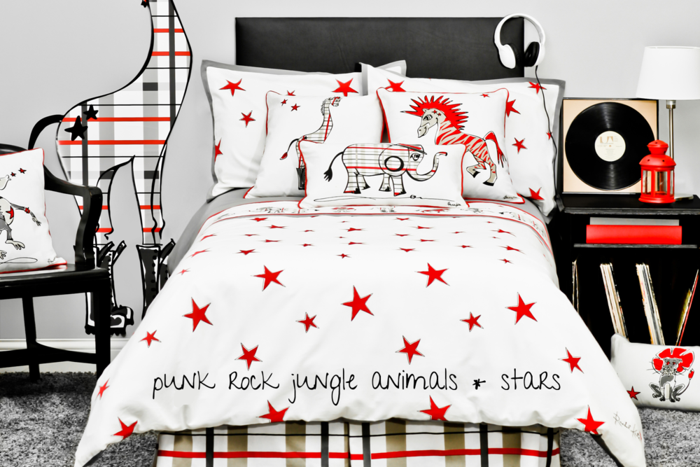 RK Punk Rock Boys Bedding