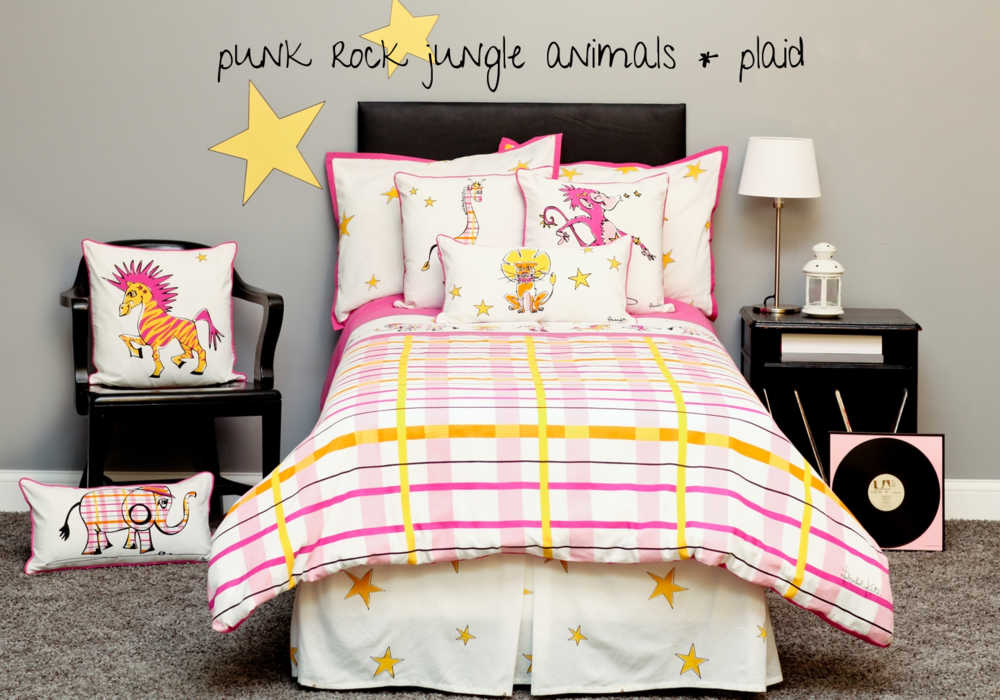 PR Girls Bedding Rachel Kate
