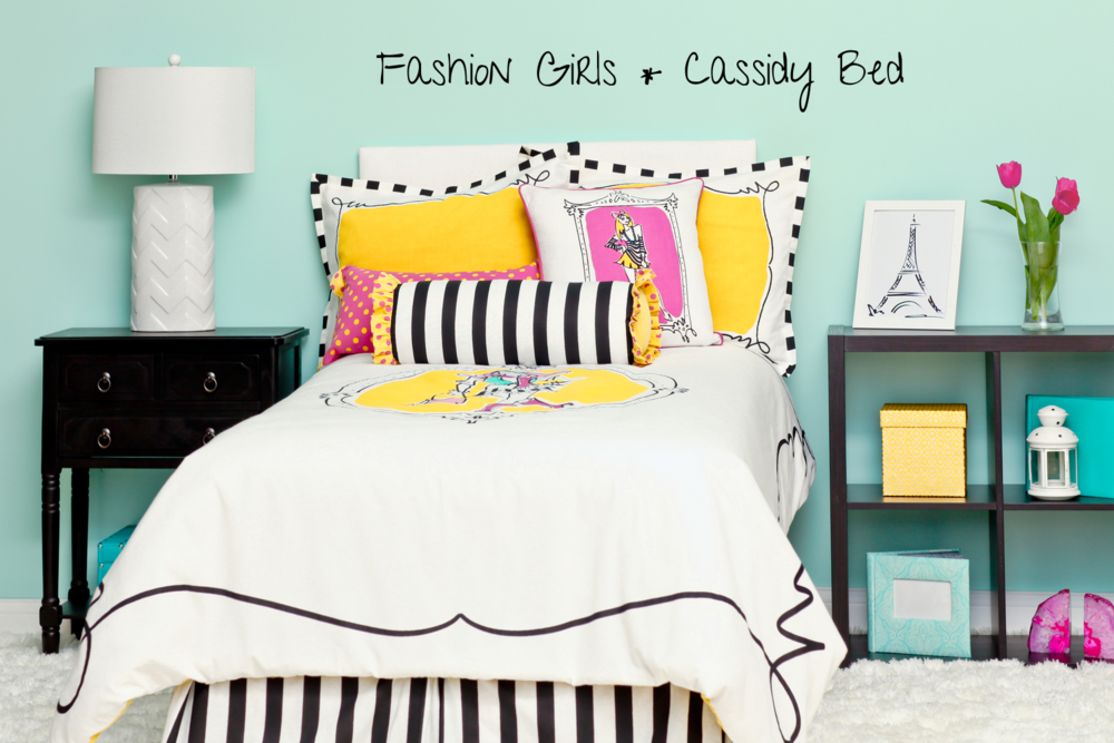Rachel Kate Fashion Girls Cassidy Bedding Collection