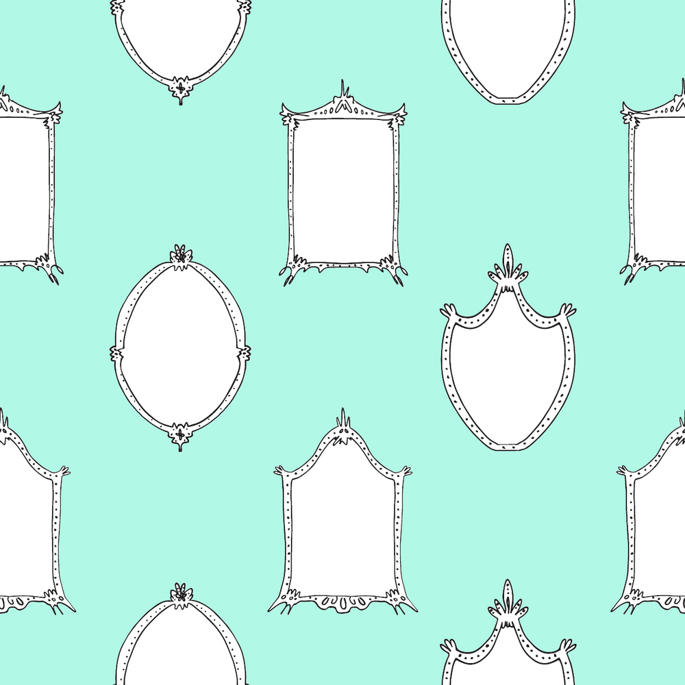 Mirrors - Blue