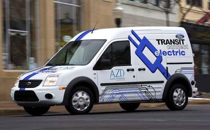 The 2011 Ford Transit Connect Electric will be available nationwide by early 2012.