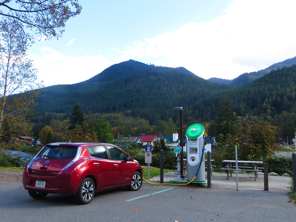 Quick-charging in Skykomish.