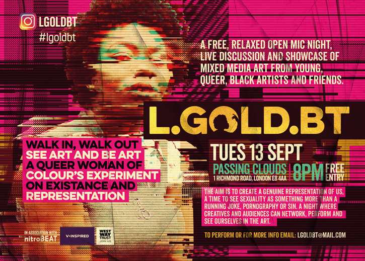 L.GOLD.BT Open Mic