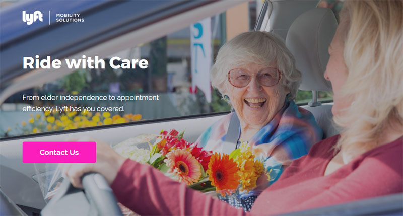 Lyft and Blue Cross Healthcare Partnership