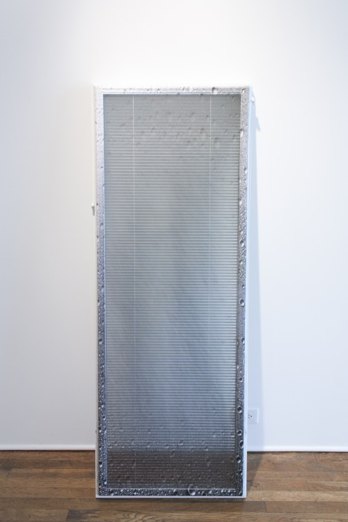 Aaron Koehn,  sad rainy day water on window #3,  2013