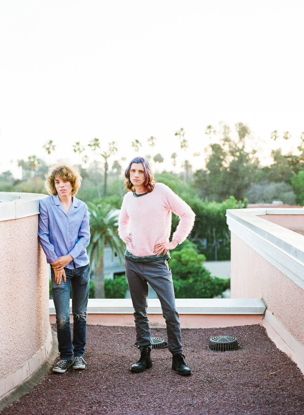 Jonathan Rado (left) and Sam France of Foxygen. Photo: Cara Robbins.