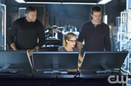 Felicity's computer skills get the team out of binds, a LOT!