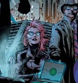 Former Batgirl turned hacker. Wonder why she's called the Oracle by her superhero friends?