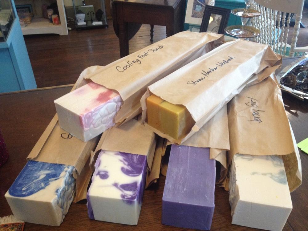 Handcut soap