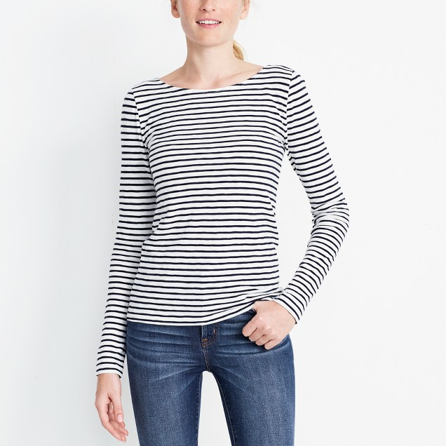 You can never have too many simple  striped t-shirts .