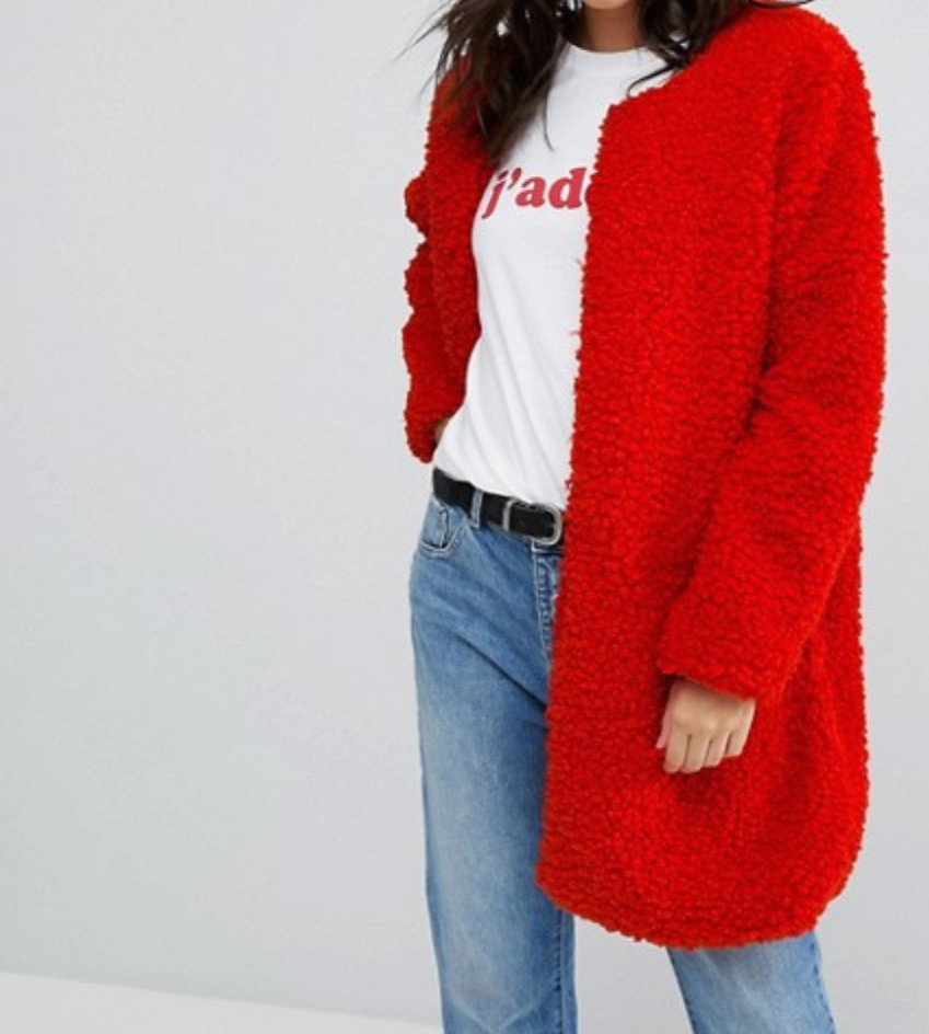 Teddy Coat Under $100  -