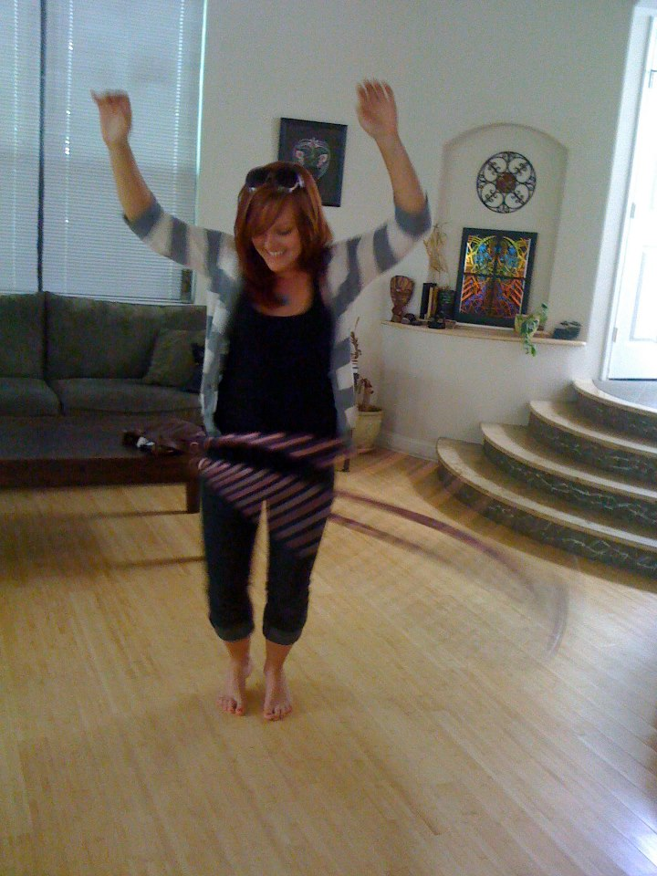 My first time hooping with Henna Kim.